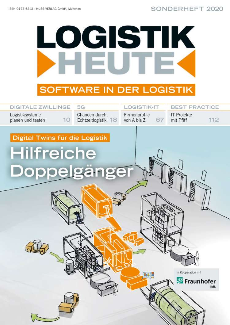 Sonderheft Software in der Logistik 2020