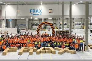 "Ende August ging das neue Amazon-Sortierzentrum ""Frax"" in Betrieb. Bild: Amazon"