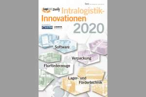 "Im Sonderheft ""LogiMAT Daily: Intralogistik-Innovationen 2020"" dreht sich alles um Inovationen, die auf der abgesagten LogiMAT 2020 gezeigt worden wären. ( Bild: HUSS-VERLAG)"