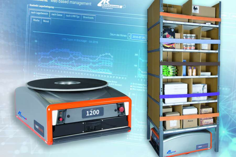Die Partnerschaft von Klinkhammer und GreyOrange soll neue Flexibilität für den Omni-Channel-Handel, Fulfillment- oder Third Party Logistics Anbieter bei Intralogistiklösungen bieten. (Foto: Klinkhammer)