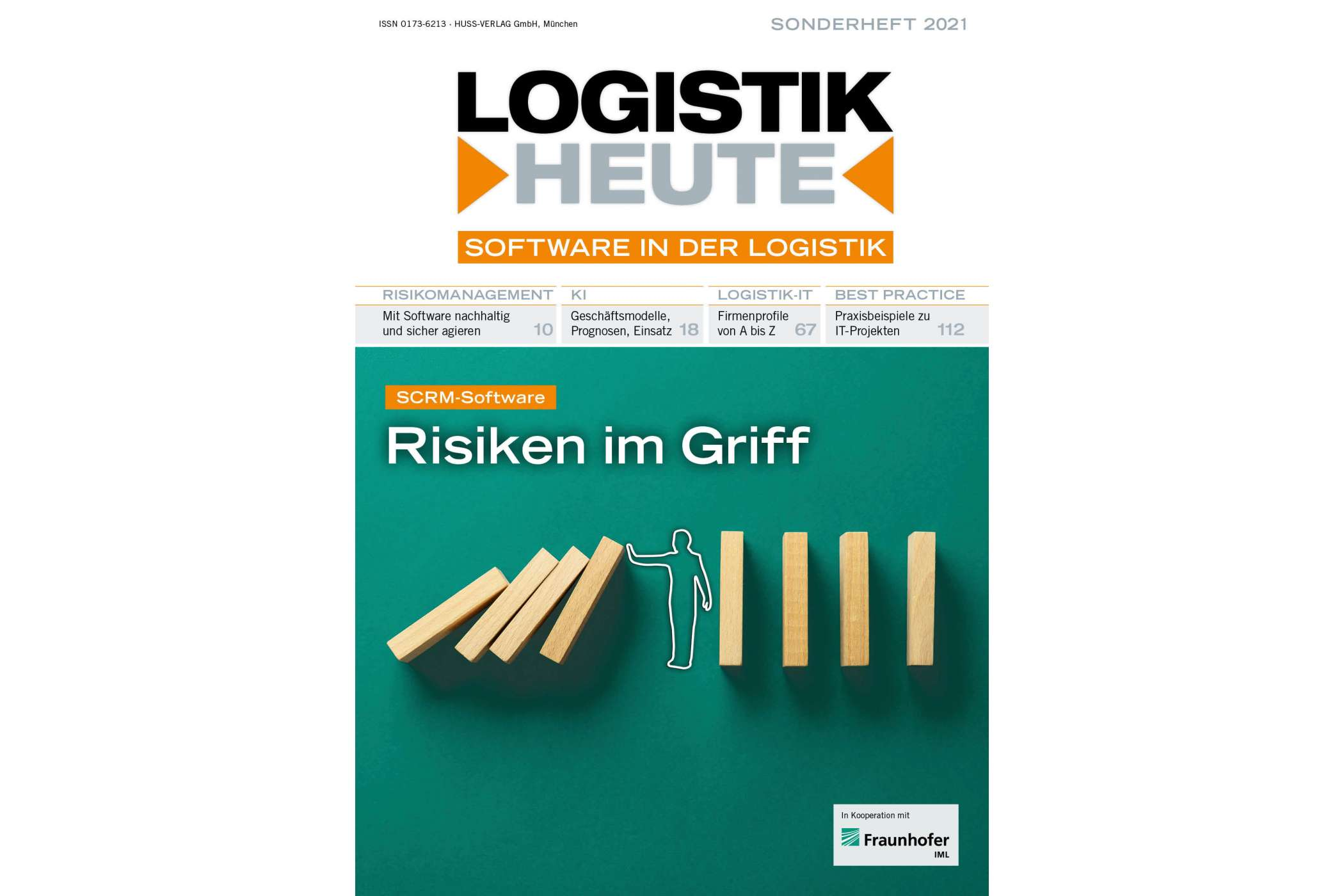 Sonderheft Software in der Logistik 2021