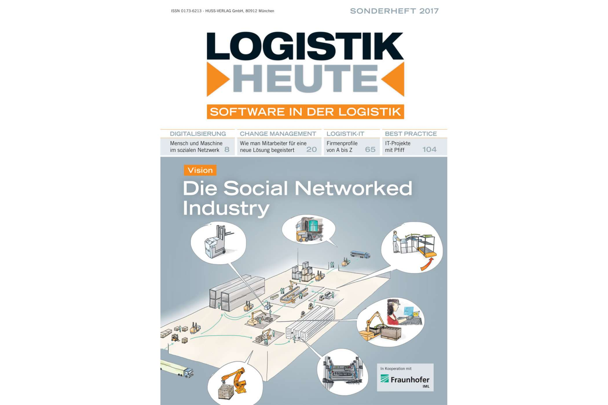 Sonderheft Software in der Logistik 2017