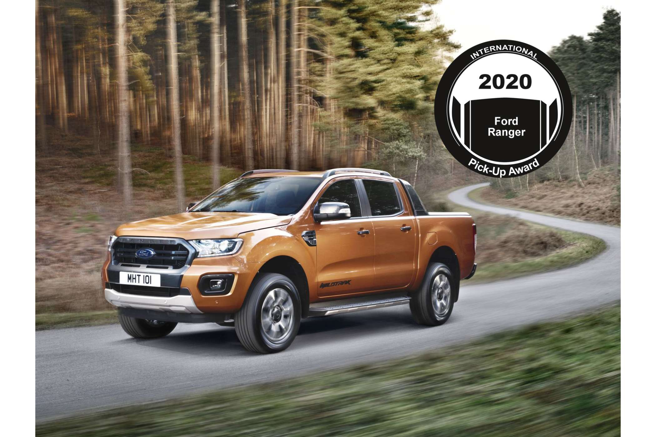 "Allrounder und Bestseller: Der europäische Klassendominator Ford Ranger überzeugte die Jury beim ""International Pick-up of the Year""-Award. 