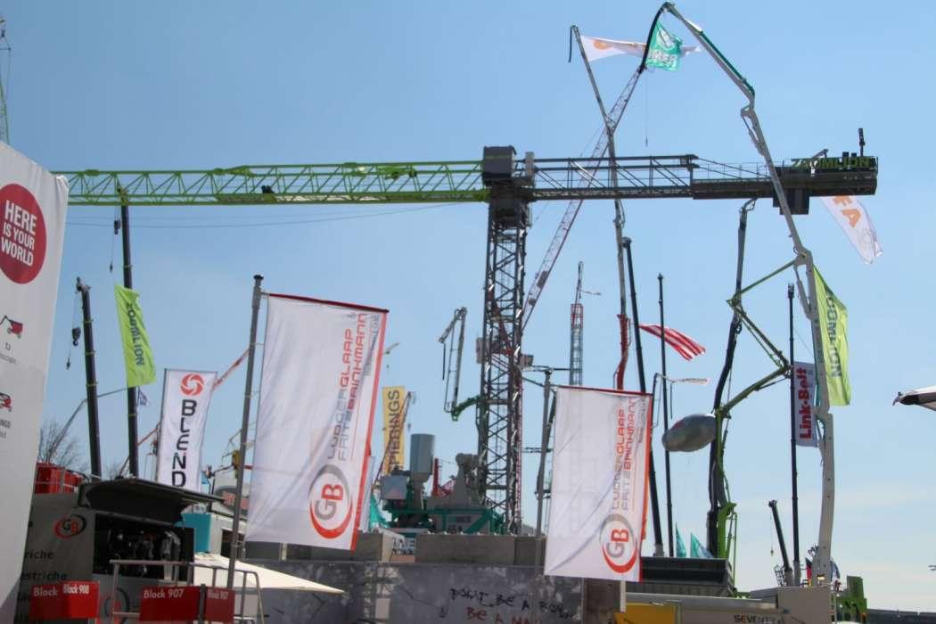 Messe Die Bauma Wachst Baulogistik Bauma Messen News
