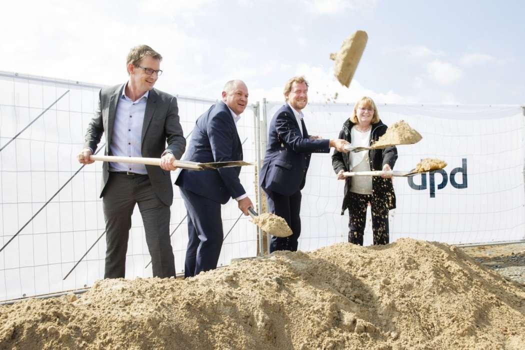 Logistikimmobilien Dpd Baut Bei Kiel Kep Dienste Neubau
