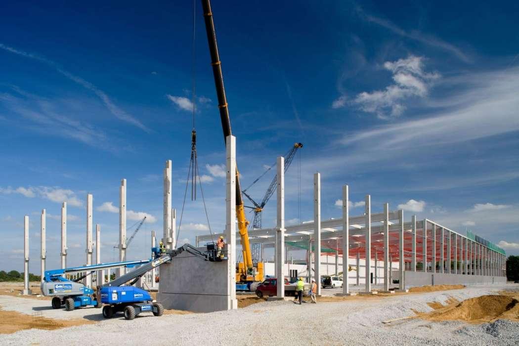 Logistikimmobilie: goodman baut für gutmann logistik standorte und