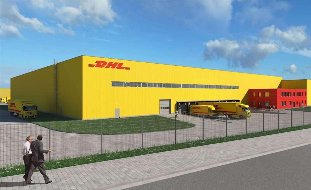 Logistikimmobilien Dhl Paket Baut Standort Ludwigsau Aus