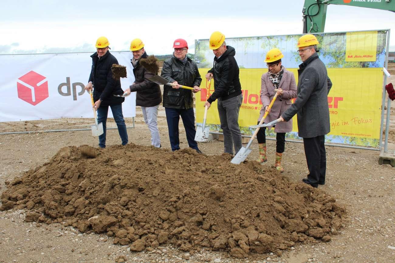 Logistikimmobilien: Spatenstich in Holzgünz bei Memmingen - Neubau (Logistikimmobilien) | News - Logistik Heute