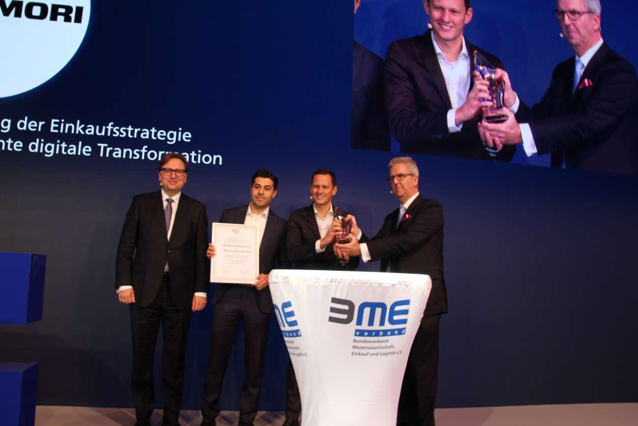 BME-Innovationspreis 2019: DMG MORI gewinnt - BME-Symposium | News - Logistik Heute