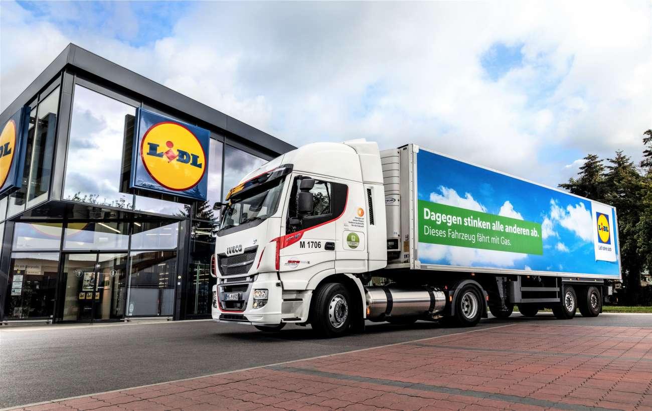 LNG: Lidl weitet Lkw-Test aus - Erdgas (CNG, LNG) | News | LOGISTIK HEUTE - Das deutsche Logistikmagazin - Logistik Heute