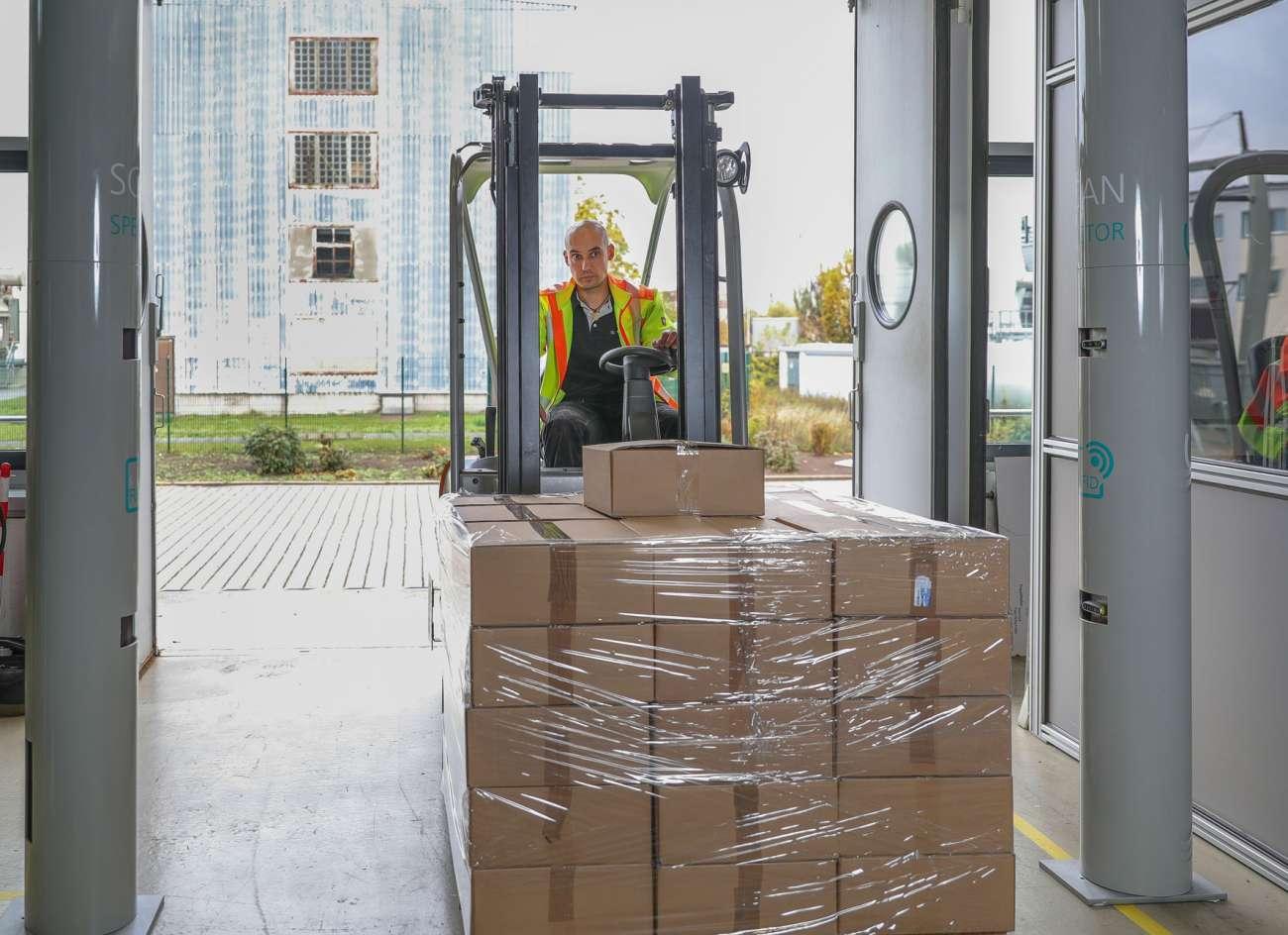 Stückgut: Automatisierter Frachtscanner statt manueller Erfassung - Stückgutverkehr | News - Logistik Heute