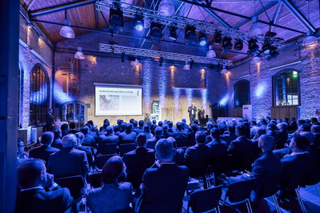 Impression vom Manufacturing Excellence Award 2018 (Foto: BVL)